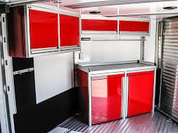 v nose enclosed trailer cabinets cabinets ctech manufacturing