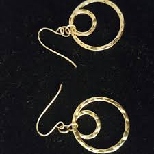 gold plated earrings for sensitive ears small hoop gold plated earrings and delicate