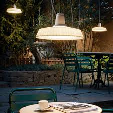 Outdoor Suspended Lighting Polyethylene L All Architecture And Design Manufacturers