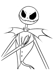 nightmare before coloring page nightmare crafts