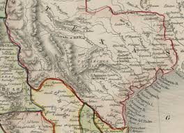 Colorado Map With Cities And Towns by Mexico California And Texas 1851 U2013 Save Texas History U2013 Medium