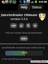 juicedefender ultimate apk free juicedefender ultimate increase android batterylife by 4x