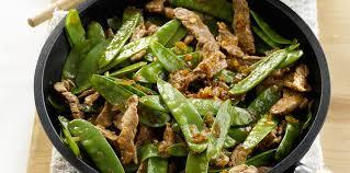 comment cuisiner les haricots plats poêlée de haricots plats au boeuf facile et pas cher recette sur