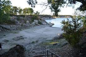 high cliff state park map eisenhower state park lake texoma
