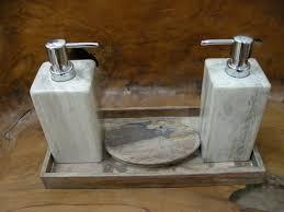 acacia handcrafted wood bath accessories wood bathroom