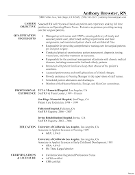 nursing resume tip new grad template registered sle of rn
