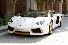 expensive cars gold meet the one off gold plated lamborghini aventador roadster qatar
