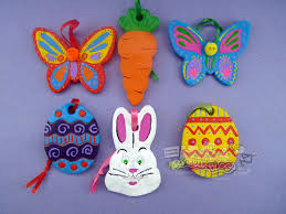 easter ornaments scribble inspiring creativity easter eggs