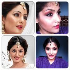 akshara wedding hairstyle akshara yeh rishta kya kehlata hai inspired makeup tutorial