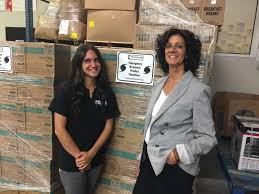 island harvest deploys personnel to puerto rico herald community rebecca dresner left flew to puerto rico on monday to help distribute food collected