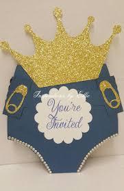 prince baby shower invitations royal prince invitation set of 12 royal prince baby
