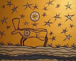 Seeking Title Title Seeking Mi Kmaq Enlightenment Acrylic And On Canvas On