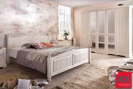 Schlafzimmer Vintage Braun Schlafzimmer Landhausstil Weiß Pisa Romantik Massivholz Stil P02