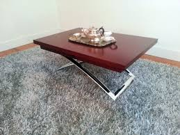furniture coffee table converts to dining table expandable