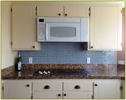 Kitchen Subway Tile Backsplash Designs Sea Glass Subway Tile Backsplash Home Design Ideas