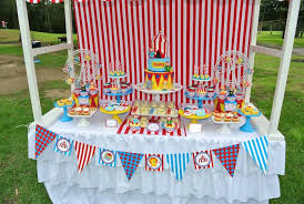 Circus Birthday Decorations Kara U0027s Party Ideas Big Top Circus Themed Birthday Party With Such