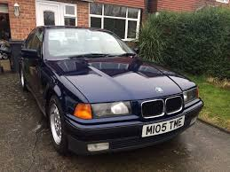 1994 m bmw 320i se manual blue 4dr saloon e36 in leamington spa