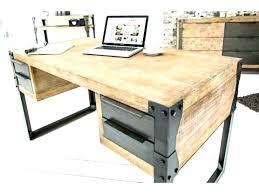 bureau en ch e massif bureau en bois design claustra interieur cloison blanc bim a co