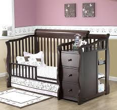 Changing Table Target 4 In 1 Baby Crib With Changing Table Target Cribs Attached Dresser