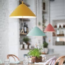 lustre de cuisine français macaron couleur lustre lustres éclairage avec