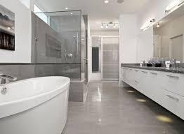 Modern Bathroom Floor Inspirations Bathroom Floor Tile Grey Polsihed Modern Bathroom In