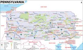 map of pa pennsylvania map map of pennsylvania pa