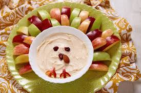how to turn pumpkin dip into a thanksgiving turkey you ll be sweet