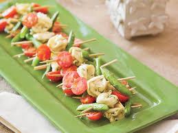 dill mustard mustard dill tortellini salad skewers recipe myrecipes