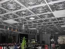 Tin Ceiling Lights Decor Decorative Faux Tin Ceiling Tiles Design Ideas For Modern