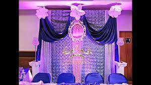 faos events decoracion para baby shower color morado y rosa youtube