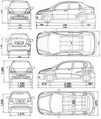 chevrolet kalos dimensions u2013 automobili image idea