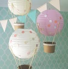 Whimsical Nursery Decor Whimsical Air Balloon Decoration Diy Kit Nursery Decor