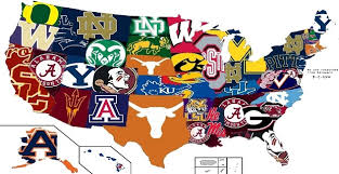 map of nba teams reddit user produces u s map of most hated cfb teams