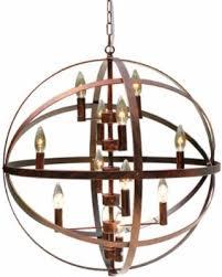 Iron Orb Chandelier Black Friday Savings On Wrought Iron Antique Bronze 12 Light Globe