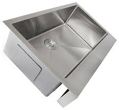 Designer Kitchen Sinks Nantucket Sinks Ezapron30 Patented Design Stainless Steel Apron