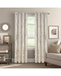 63 White Curtains Shopping Special Colordrift Wildflower 63 Grommet Top