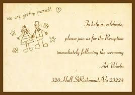 wedding invitation wording for already married wedding reception invitation wording yellow vintage