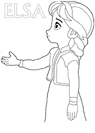 frozen dibujos pintar princesas