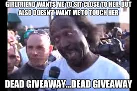 That Time Of The Month Meme - introducing the dead giveaway meme in homage to the amazing mr