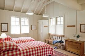 Red And White Buffalo Check Curtains Gorgeous Buffalo Check Curtains In Bedroom Farmhouse With Building