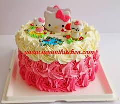 100 hello kitty 2 tier birthday cake birthday cakes for