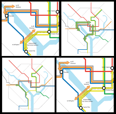 Metro Station Map Dc by Next Generation U0027 Metro Plan Includes New Stations Tunnels