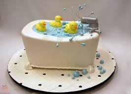 baby shower seat rubber ducky bathtub baby shower cake custom baby shower cakes