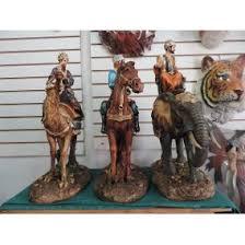 imagenes de los reyes magos y sus animales 3 reyes magos nacimiento ceramica nuevo en mercado libre méxico