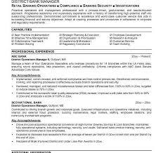 bank resume examples resume example example investment banking