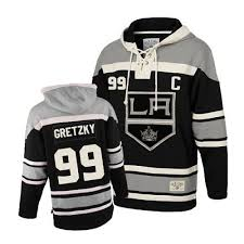 wayne gretzky 99 premier old time sawyer hooded sweatshirt black
