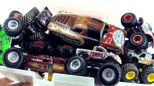 buy wheels monster jam trucks box of monster truck toys collection wheels monster jam trucks