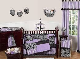 Girls Bedding Purple by Baby Nursery Sets Classic Cutie By Banana Fish Crib Set