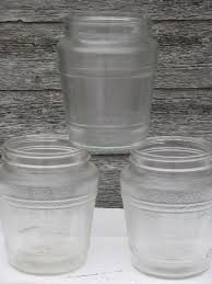 clear plastic kitchen canisters antique glass bottles and jars
