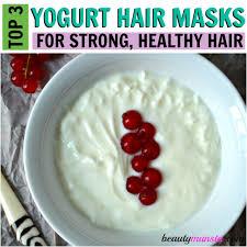 egg and yogurt hair mask recipe for strong long hair beautymunsta
